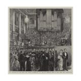 The Reception of the Right Honourable Joseph Chamberlain Giclee Print