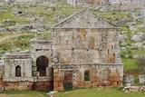 The Ruins of the Dead City of Serjilla Photographic Print