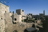Tower of David (Founded in 2nd Century BC) Photographic Print