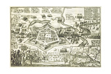 The Siege of Neuhausel by the Turks in 1663 from a Book on the Ottoman Campaigns in Europe Giclee Print