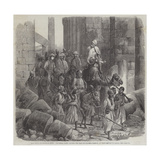 The Prince of Wales in Egypt Giclee Print