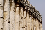 The Ruins of the Great Roman Colonnade (2nd Century Ad) Photographic Print