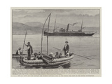 The Ss Coya on Lake Titicaca Giclee Print
