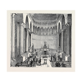 The Slave Trade on the East Coast of Africa: Interior of Bishop Steere's Mission Church Giclee Print