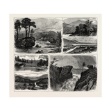 Views in the Vale of Rannoch Perthshire Scotland Giclee Print
