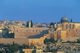 View of the Old City Walls and Al-Aqsa Mosque from the Village of Silwan (Unesco World Heritage Lis Photographic Print