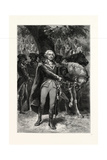 Washington Taking Command. George Washington (17321799) Giclee Print
