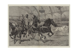 The Hippodrome at Olympia, the National Agricultural Hall, Kensington, the Chariot-Race Giclee Print