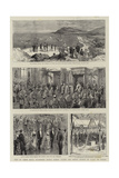 Visit of their Royal Highnesses Prince Albert Victor and Prince George of Wales to Dublin Giclee Print