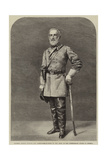 General Robert Edmund Lee, Commander-In-Chief of the Army of the Confederate States of America Impression giclée