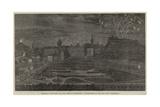Marriage Festivities for the Duke of Edinburgh, Illumination of the Old Town, Edinburgh Giclee Print