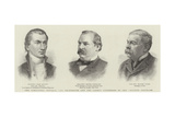 The Venezuela Trouble, the Originator and the Latest Exponents of the Monroe Doctrine Giclee Print