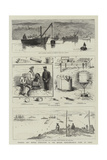Torpedo and Mining Operations by the British Mediterranean Fleet at Corfu Giclée-tryk