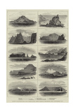 Islands in the South Indian Ocean Visited by HMS Comus in Search of Shipwrecked Crews Giclee Print