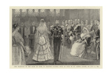 The Marriage of the Duke of York to Princess Victoria Mary of Teck in St James's Chapel on 6 July 1 Giclee Print