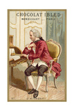 Jean Le Rond D'Alembert, French Mathematician, Physicist and Philosopher Giclee Print