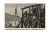 The Church and Bells of Sainte Helene, Between Dinan and Dol, Brittany Giclee Print