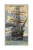 Challenger, British Ship Equipped to Undertake an Oceanographic Survey Expedition, 1873-1876 Giclee Print