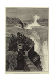 The Marquis and Marchioness of Lorne (Princess Louise) at Niagara Falls, Canada Giclee Print