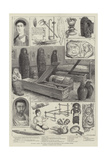 Egyptian, Greek, and Roman Antiquities Discovered by Mr Flinders Petrie Giclee Print