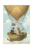 Joseph Louis Gay-Lussac and Jean-Baptiste Biot in a Balloon at an Altitude of 4000 Metres, 1804 Giclee Print