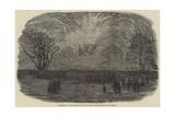 Fireworks at the Merchant Seamen's Orphan Asylum, Bow-Road, on Tuesday Giclee Print