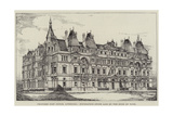 Proposed Post Office, Liverpool, Foundation-Stone Laid by the Duke of York Giclee Print