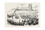 Reception S.A.I. and R. Grand Duke Maximilian of Austria, in the Port of Toulon, on 29 August 1855. Giclee Print