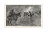 The Newmarket October Meeting: Rain on the Course: a Good Wetting-Through for the Jockeys Giclee Print