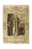 Pope Mark from 18 January to 7 October 336. by Cibera. Ano Cristiano, 1853 Giclee Print