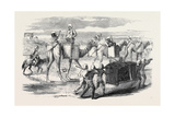 Pushing Forward British Troops to Delhi, Captain G.F. Atkinson Bengal Engineers Giclee Print