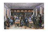 Justus Von Liebig's Chemistry Laboratory at University of Giessen, 1842, Giclee Print