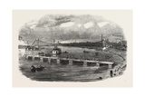 Volunteer Military Engineers at Glasgow Constructing a Pontoon Bridge on the Clyde Uk Giclee Print