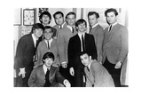The Beatles with the Bg Ramblers at Peppermint Lounge on Miami Beach, 1964 Giclée-trykk