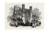 The Cambridge Chancellorship Election: Gateway of St. John's College, UK, 1847 Giclee Print