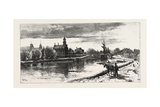 Niagara District, Thorold, on Old Welland Canal, Canada, Nineteenth Century Giclee Print