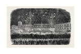 Inauguration of the King of Portugal, Illumination and Fireworks at Oporto Giclee Print