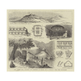 The Afghan War, Buddhist Cave Convents at Hadah, and a Buddhist Tope, Near Jellalabad Giclee Print
