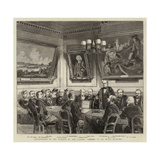 Presentation of the Freedom of the Turners' Company to Sir Henry Bessemer Giclee Print