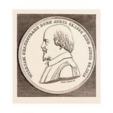 The Beaufoy Medal, in Commemoration of the Birth and Death of Shakespeare, April 23, 1564-1616 Giclee Print