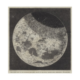 Telescopic View of the Eclipse of the Moon, Drawn at the Royal Observatory, Greenwich Giclee Print