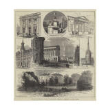 Visit of the Prince of Wales to Warwickshire, Sketches in Birmingham and its Vicinity Giclee Print