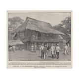 The War in the Philippines, Leading Filipinos Gathered at Aguinaldo's House Giclee Print