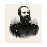 Franco-Prussian War: Lieutenant-General Count Bismarck-Bohlen, Governor General of Alsace, 1870 Giclee Print