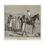 The War in the Soudan, a Rebel Giving Himself Up with His Family at Suakim Giclee Print