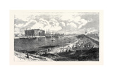 The New Railway Steamboat Docks Barrow-In-Furness North Lancashire Uk 1867 Giclee Print