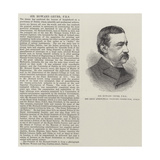Sir Howard Grubb, Frs, the Great Astronomical Telescope Constructor, Dublin Giclee Print