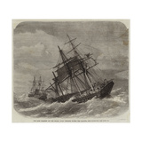 The Late Collision Off the Lizard, HMS Terrible Towing the Calcutta into Plymouth Giclee Print