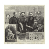 The Royal College of Surgeons, Dublin, Unveiling of a Statue of William Dease, the First President Giclee Print