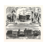 England's Refuge for the Defenders of Her Wooden Walls. Greenwich Hospital. London, Uk Giclee Print